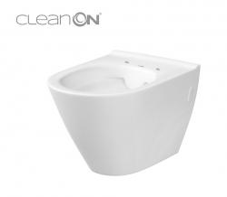 AKCE/SET/VIEGA - MONO modul WC čelné ovládanie + ovládacie tlačidlo CHRÓM + WC CERSANIT CITY CLEAN ON + SEDADLO (V606732CR CI1), fotografie 4/9