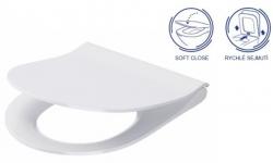 AKCE/SET/VIEGA - MONO modul WC čelné ovládanie + ovládacie tlačidlo CHRÓM + WC CERSANIT CITY CLEAN ON + SEDADLO (V606732CR CI1), fotografie 18/9