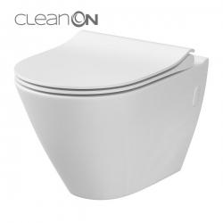 AKCE/SET/VIEGA - Eko PLUS modul do jadra WC čelnej ovládanie SET CHRÓM + ovládacie tlačidlo CHRÓM + WC CERSANIT CITY CLEAN ON + SEDADLO (V622176CR CI1), fotografie 2/10