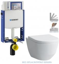 AKCE/SET/GEBERIT - Kombifix KOMBIFIX ECO pro závěsné WC, nádržka UP 320 bez Ovládací desky + WC LAUFEN PRO RIMLESS + SEDÁTKO (110.302.00.5 LP1)