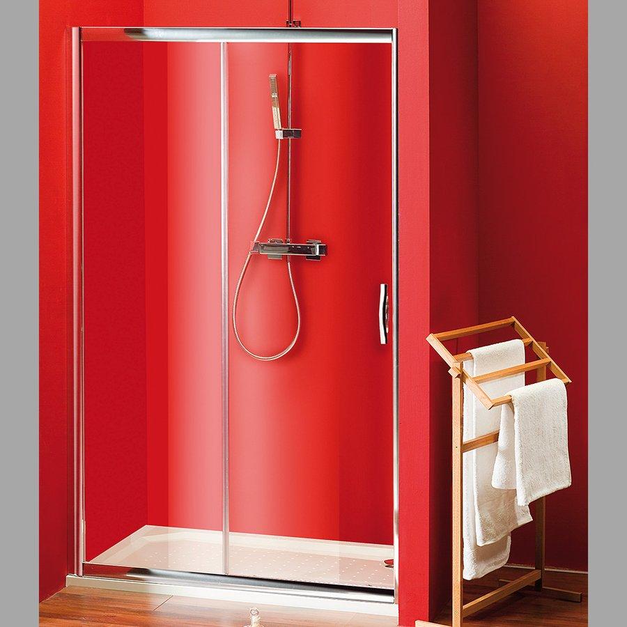VÝPRODEJ - SIGMA sprchové dvere posuvné 1100mm, číre sklo (SG1241VYP)