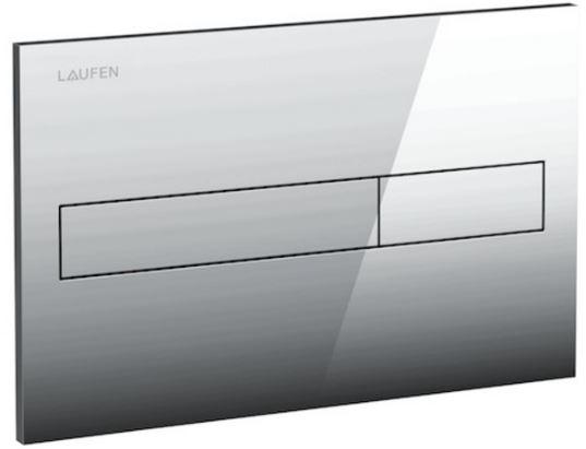 AKCE/SET/LAUFEN - Rámový podomítkový modul CW1  SET + ovládací tlačítko CHROM + WC CERSANIT PRESIDENT + SEDÁTKO (H8946600000001CR PR1), fotografie 10/6