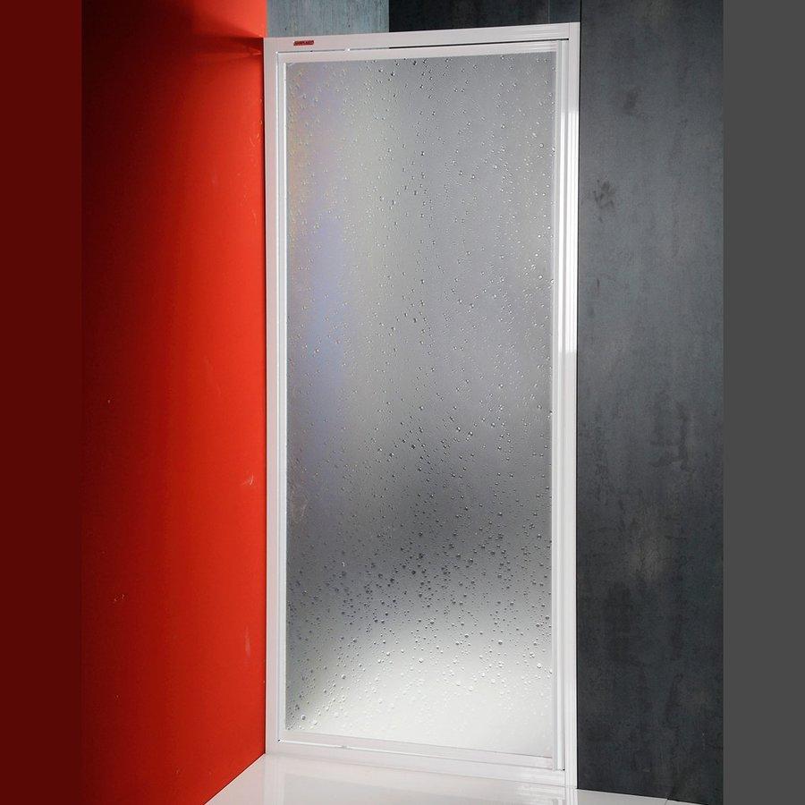 AQUALINE - DJ sprchové dvere výkyvné 900mm, biela, polystyren (DJ-C-90)