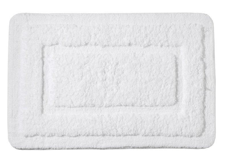Ridder - JUWEL predložka 60x90cm s protišmykom, polyester, biela (RI758311)