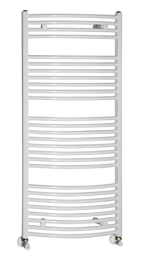 AQUALINE - Vykurovacie teleso 600x1330mm,708W, biela (ILO36)