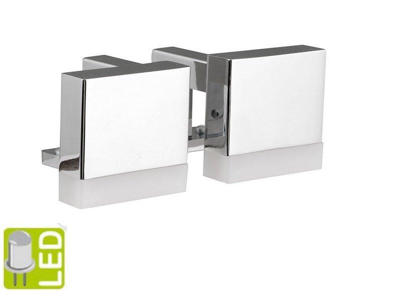 Sapho Led - OLYMP LED svietidlo 2x3W, 12V, 118x50x48mm, chróm (ML302)