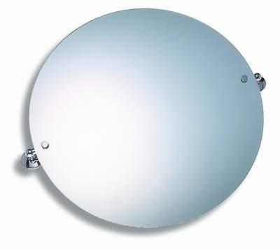 NOVASERVIS - Zrkadlo s výklopným držiakom guľaté 50 cm  Metalia 1 chróm (6113,0)