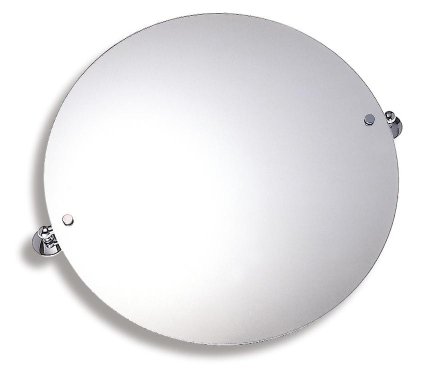 NOVASERVIS - Zrkadlo s výklopným držiakom guľaté 60 cm  Metalia 1 chróm (6115,0)