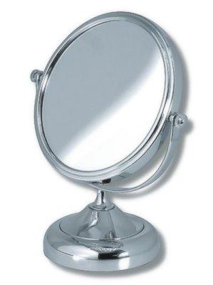 NOVASERVIS - Kozmetické zväčšovacie zrkadlo na postavenie chróm (6968/1,0)
