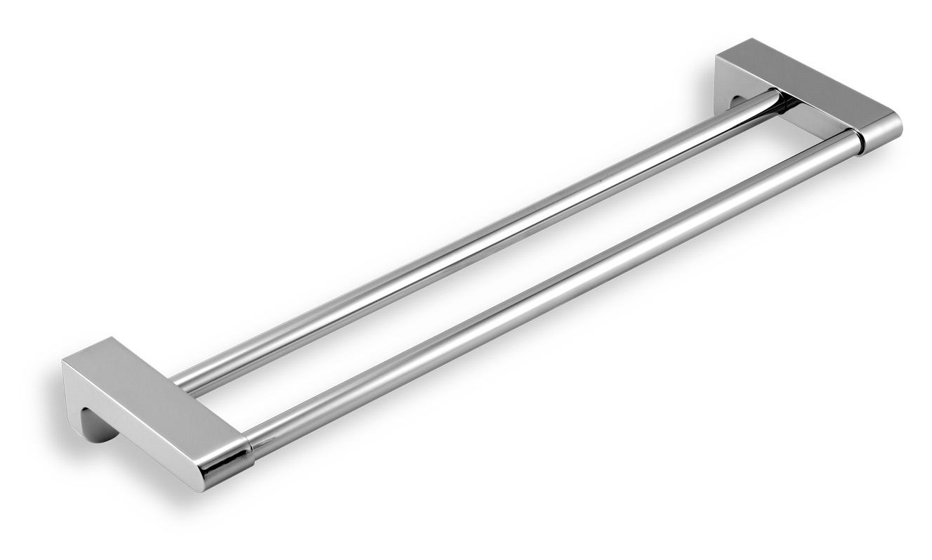 NOVASERVIS - Dvojitý držiak uterákov 490 mm AUDREY chróm (66124,0)