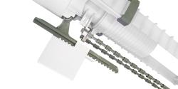 CERSANIT - Vypúšťací ventil s funkciou 3/6 litrov vrátane ovládacieho tlačidla (vysoký) (K99-0015X), fotografie 8/4