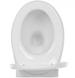 ZÁVESNÁ MISA MITO RED so sedadlom polypropylénovým (TK001-012), fotografie 4/3