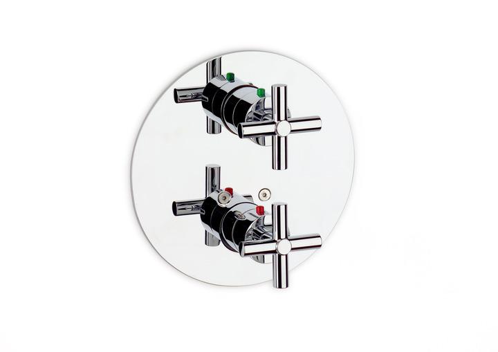 ROCA Loft vanová-sprchová termostatická podomítková baterie s přepínačem a sprchou 75A0643C00 (A5A0643C00)