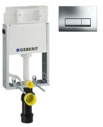 AKCE/SET/GEBERIT - KOMBIFIXBasic včetně ovládacího tlačítka DELTA 51 CR (110.100.00.1 51CR)