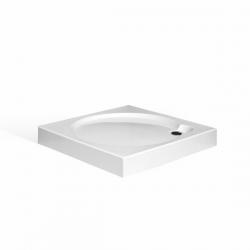 Roltechnik - Čtvercová samonosná sprchová vanička iSQUARE 900x900 mm 8000234 (RT 8000234)