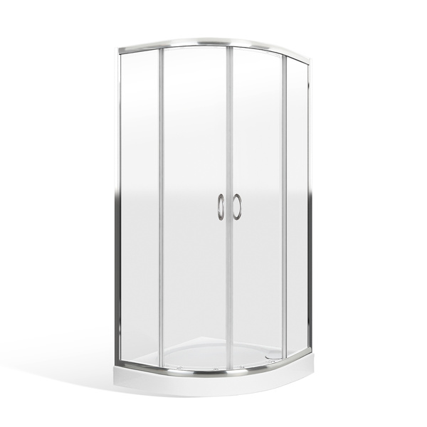Roltechnik - Čtvrtkruhový sprchový kout ER2 800 x mm. 557-8000000-00-02 (RT 557-8000000-00-02)