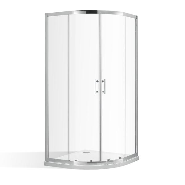 Roltechnik - Čtvrtkruhový sprchový kout OBR2 800x800 mm s posuvnými dveřmi. 4000701 (RT 4000701)