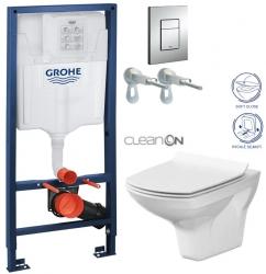 AKCE/SET/GROHE - Rapid SL Rapid SL pre závesné WC 38528SET + WC CERSANIT CARINA CLEAN ON + SEDADLO (38772001 CA3)