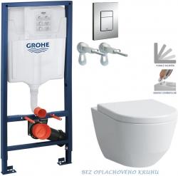 AKCE/SET/GROHE - Rapid SL Rapid SL pre závesné WC 38528SET + WC LAUFEN PRO RIMLESS + SEDADLO (38772001 LP1)