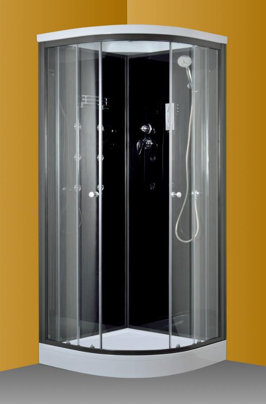 ARTTEC - SCARLET 80 DIVINE - Masážní box s vaničkou z litého mramoru, SHARK (PAN01177)