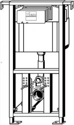 AKCE/SET/VIEGA - Eko PLUS modul do jadra WC čelnej ovládanie SET CHRÓM + ovládacie tlačidlo CHRÓM + WC TESI so sedadlom SoftClose, AquaBlade (V622176CR TE1), fotografie 16/8