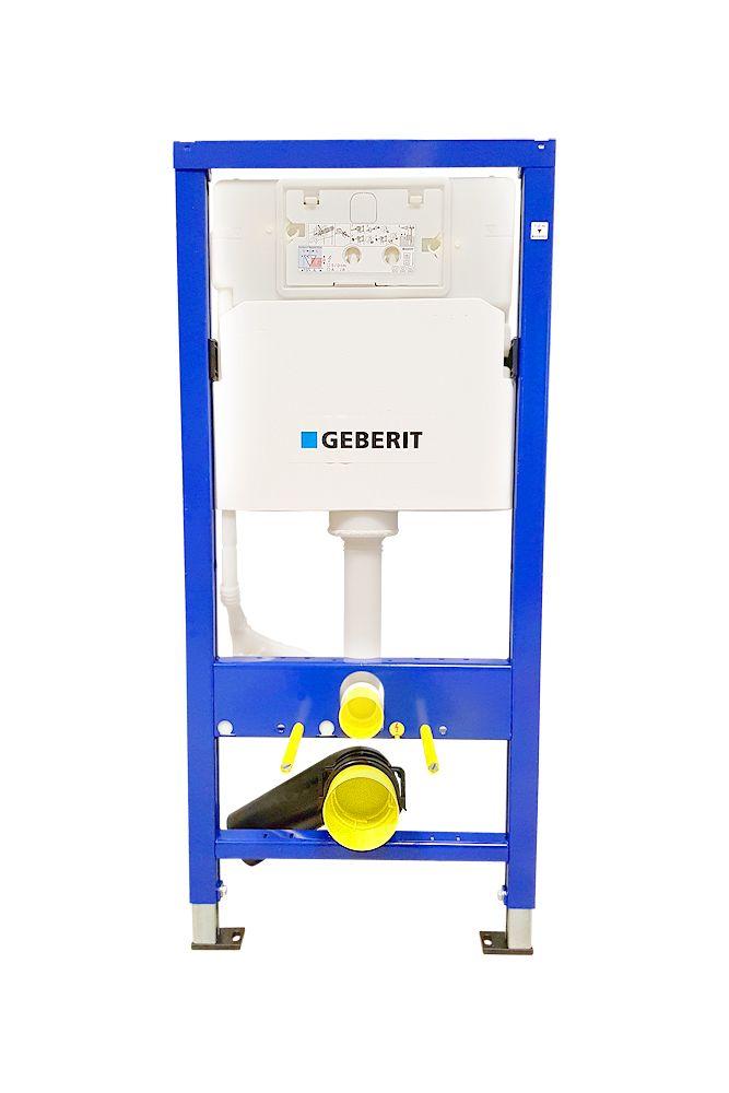 GEBERIT DuofixBasic s chrómovým tlačidlom DELTA51 + WC CERSANIT ARES + SEDADLO (458.103.00.1 51CR AR1)