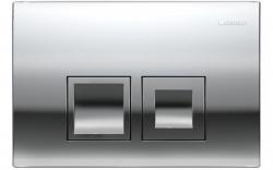 AKCE/SET/GEBERIT - SET Duofix Sada pre závesné WC 458.103.00.1 + tlačidlo DELTA50 CHRÓM + WC ARES + SEDENIE (458.103.00.1 50CR AR1), fotografie 16/9