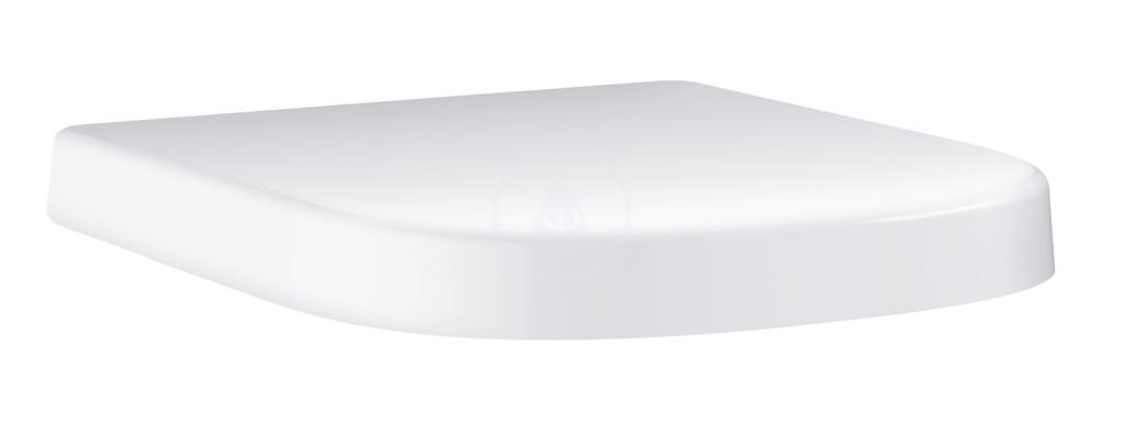 VÝPRODEJ - Euro Ceramic WC sedátko, duroplast, alpská bílá (39459000VYP)