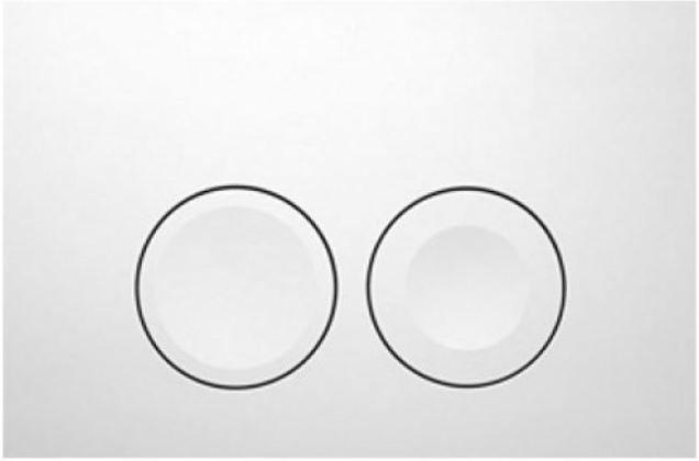 GEBERIT KOMBIFIXBasic vr. bieleho  tlačidla DELTA 21 + WC CERSANIT CLEANON CREA OVÁL + SEDADLO (110.100.00.1 21BI CR1)