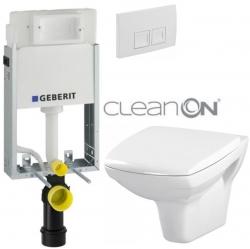 AKCE/SET/GEBERIT - SET KOMBIFIXBasic vrátane ovládacieho tlačidla DELTA 50 Biele pre závesné WC CERSANIT CLEANON CARINA + SEDADLO (110.100.00.1 50BI CA1)