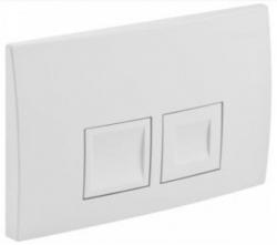 AKCE/SET/GEBERIT - SET KOMBIFIXBasic vrátane ovládacieho tlačidla DELTA 50 Biele pre závesné WC CERSANIT CLEANON COLOUR + SEDADLO (110.100.00.1 50BI CN1), fotografie 22/11