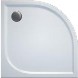 AKCE/SET/SanSwiss - Sprchová vanička PRIM 1/4kruh 800x800, R550 bez nôh-5 Marblemate (PRIM8080R55)