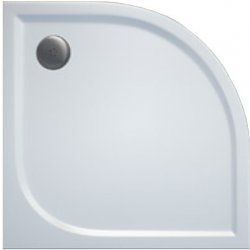 AKCE/SET/SanSwiss - Sprchová vanička PRIM 1/4kruh 900x900, R550 bez nôh-5 Marblemate (PRIM9090R55)