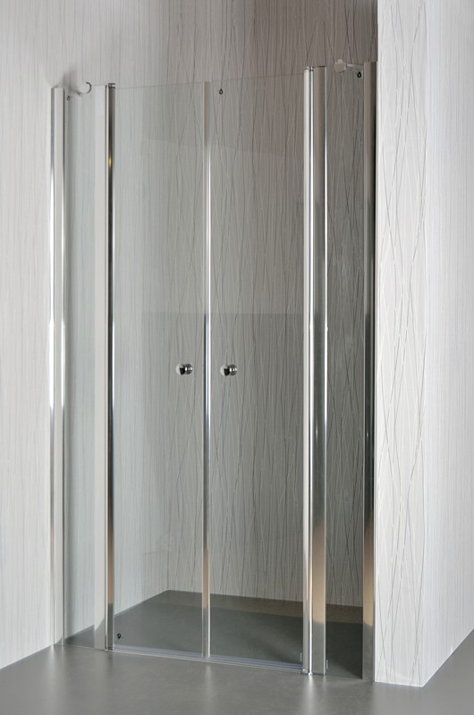 ARTTEC - SALOON F3 - Sprchové dveře do niky clear - 112 - 117 x 195 cm (XSAL0038)