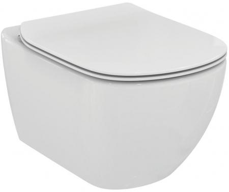 AKCE/SET/ALCAPLAST - Renovmodul - predstenový inštalačný systém + tlačidlo M1721 + WC TESI so sedadlom SoftClose, AquaBlade (AM115/1000 M1721 TE1), fotografie 14/7