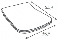 AKCE/SET/ALCAPLAST - SET Sádromodul - predstenový inštalačný systém + tlačidlo M1710 + WC CERSANIT CLEANON METROPOLITAN + SEDADLO (AM101/1120 M1710 ME1), fotografie 18/9
