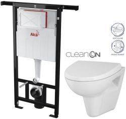 AKCE/SET - SET Jádromodul - předstěnový instalační systém + WC CERSANIT CLEANON PARVA + SEDÁTKO (AM102/1120 X PA1)
