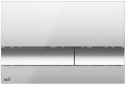 AKCE/SET/ALCAPLAST - SET Jádromodul - predstenový inštalačný systém + tlačidlo M1721 + WC CERSANIT CLEANON CITY + SEDADLO (AM102/1120 M1721 CI1), fotografie 18/9