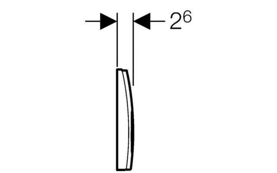GEBERIT DuofixBasic s bielym tlačidlom DELTA21 + WC Ideal Standard Tesi se sedlem RIMLESS (458.103.00.1 21BI TE2)