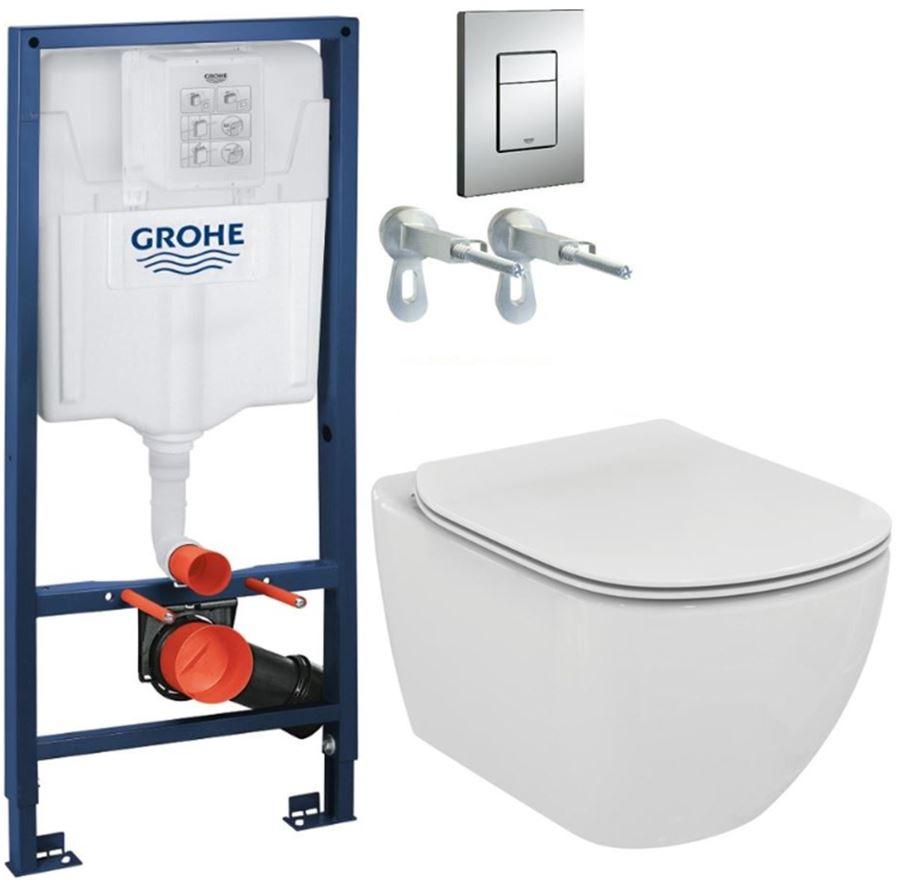 AKCE/SET/GROHE - GROHE -Rapid SL Rapid SL pre závesné WC 38528SET + WC TESI (38772001 TE3)