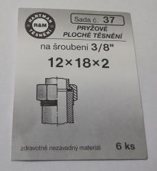 VÝPRODEJ - Těsnění 12x18x2 (S37)