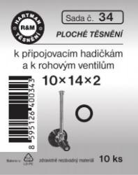 VÝPRODEJ - Těsnění 10x14x2 (S34)