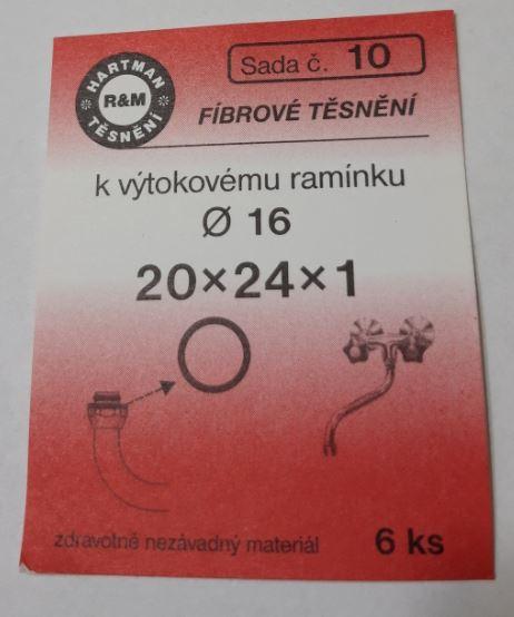 VÝPRODEJ - Těsnění 20x24x1 (S10)