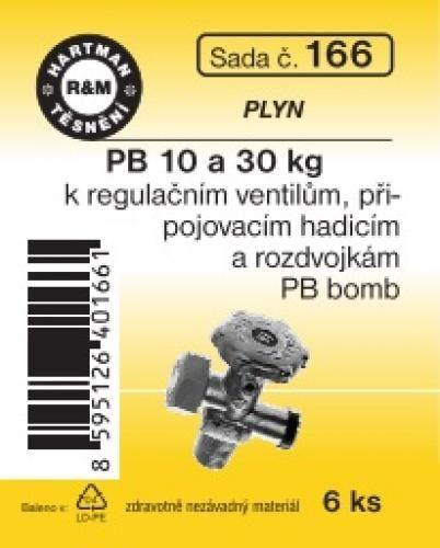 VÝPRODEJ - Těsnění PB 10 a 30 kg bomba (S166)