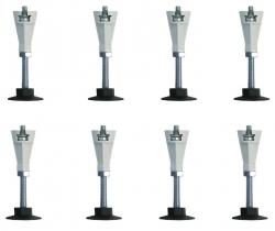 PRIM - Prídavné nohy k vaničkám 8 ks (PRIMNOHY8M)