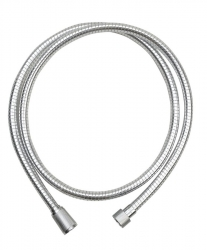 VÝPRODEJ - SPYROFLEX plastová sprchová hadica, hladká, 150cm, chróm (FSAR150VYP)