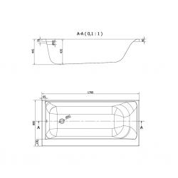 CERSANIT - VAŇA SMART 170X80 PRAVÁ (S301-116), fotografie 18/9