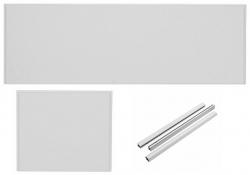 VÝPRODEJ - SET- vaňový čelný panel + bočný panel + montážna sada (SETpanel UNI)