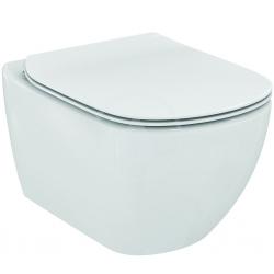 IDEAL STANDARD - Tesi Závěsné WC se sedátkem SoftClose, rimless, bílá (T355101)