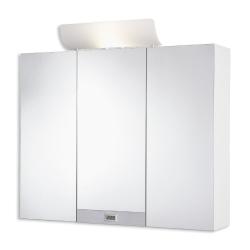 JOKEY TAGONA bílá/ALU zrc.skříňka 80x74/65/x17,5 dřevěná, 20W (113113220-0110)